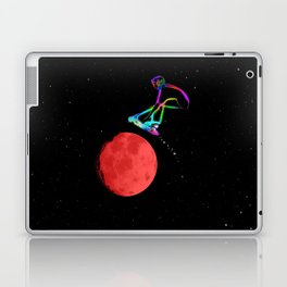 Moon Grabber - Stunt Scooter Rider Laptop & iPad Skin