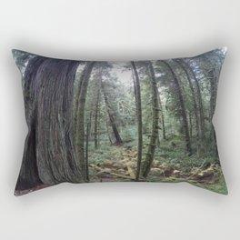 Go pro forest Canada Rectangular Pillow