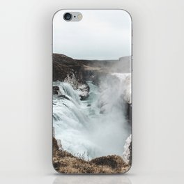 Gullfoss - Landscape Photography iPhone Skin