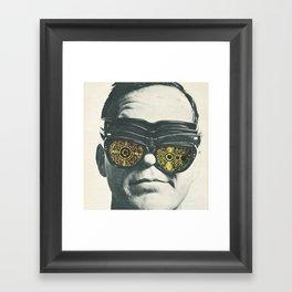 Misty-eyed Framed Art Print