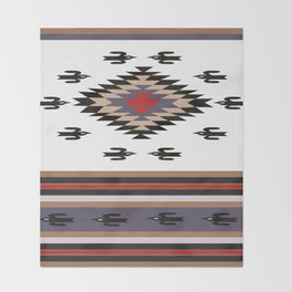 American Native Pattern No. 135 Throw Blanket