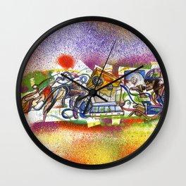 Hiphop Wall Clock