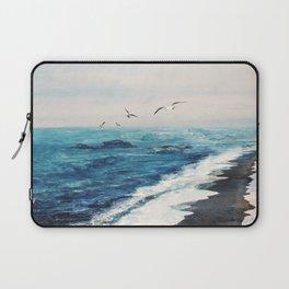 Watercolor Coast Laptop Sleeve