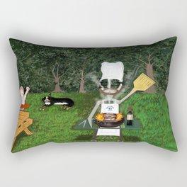 Corky the Grillman Rectangular Pillow