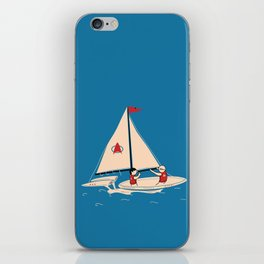 Sailing Towards Future Unknowns iPhone Skin