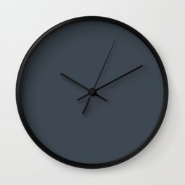 Light of the World ~ Blue-gray Wall Clock