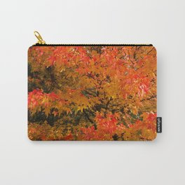 Maple Flames Carry-All Pouch