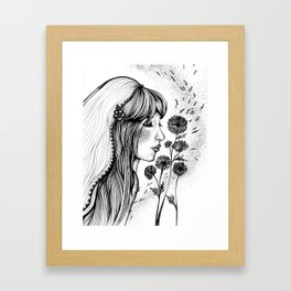 Virgo Framed Art Print