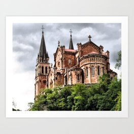 Our Lady of Covadonga Art Print