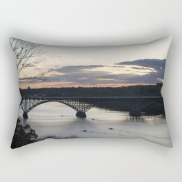 Boat House Row, Schuylkill River, PA Rectangular Pillow