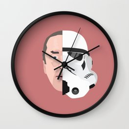 STORM TROOPER / Laurie Goode Wall Clock