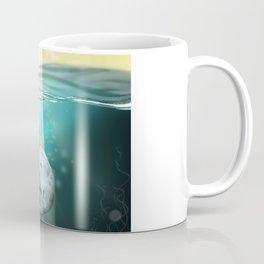 Narwhal meets Girl Coffee Mug