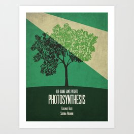 Photosynthesis - Minimalist Board Games 10 Art Print