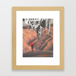 untitled and stuff Framed Art Print