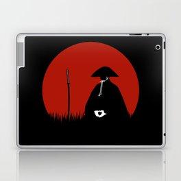 Meditating Samurai Warrior Laptop & iPad Skin