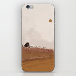 There Is No Need To Rush iPhone Skin