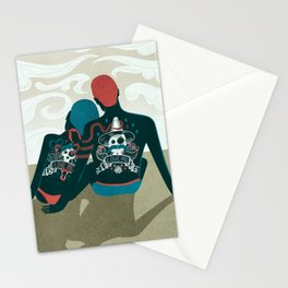 Love You / Love Me - Us and Them Stationery Cards