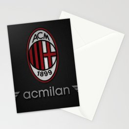 Ac Milan Football Club - Milan Italy Stationery Cards