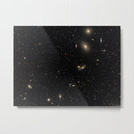 Galaxies Metal Print