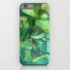 Still Life Study in Green iPhone 6s Slim Case