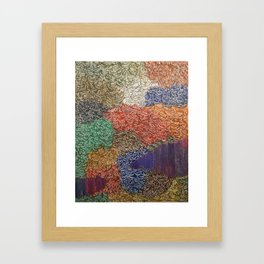 10,000 Leaves Framed Art Print