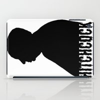 hitchcock iPad Cases featuring Alfred Hitchcock by Silvio Ledbetter