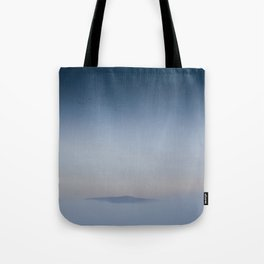 Peaceful Mountain Tote Bag