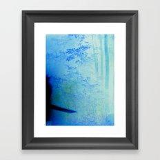 Fire Forest Framed Art Print