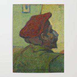Paul Gauguin (Man in a Red Beret) Poster