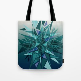 Cracked Icicles Tote Bag