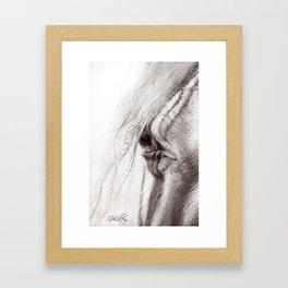 Perlino Eye Framed Art Print