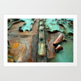 Colours of Transience Art Print