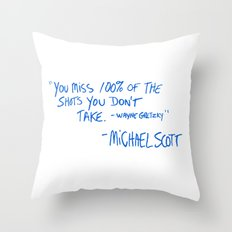 The Office Quote Throw Pillow