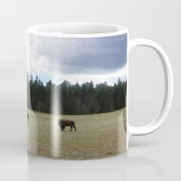 buffalo Mugs featuring Buffalo  by Taylor Palmer