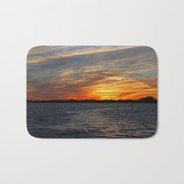 Changes on the Caloosahatchee I Bath Mat