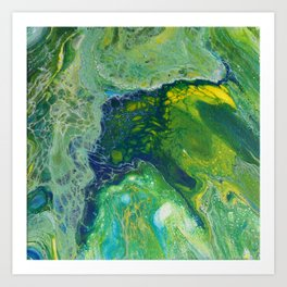 002 - Angels in the Sea Art Print