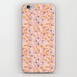 Pink Daisies iPhone Skin