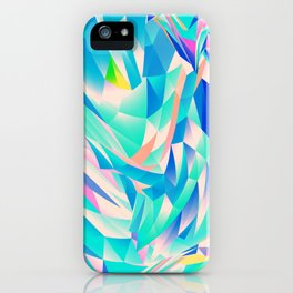 3D Waves iPhone Case