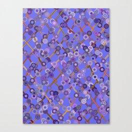 Dusky Blossoms Canvas Print