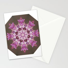 Lilac floral flake Stationery Cards