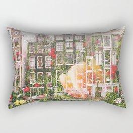 Flowers in Amsterdam Rectangular Pillow