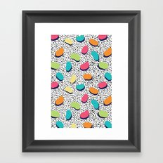 Candy Obsession - Jelly Beans Framed Art Print