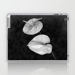 Zwei Blumen im Raum Laptop & iPad Skin