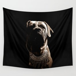 Dramatic Boerboel Wall Tapestry