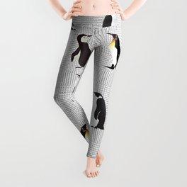 Penguin Pattern13 Leggings
