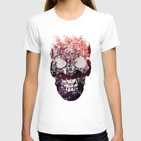 skull T-shirts featuring SKULL by Ali GULEC