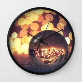 Bokeh Inception Wall Clock