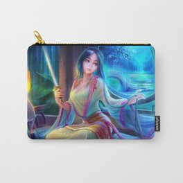 Sleepless Nights-Mulan Carry-All Pouch
