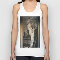 cinema Tank Tops featuring At Cinema by Art Ground