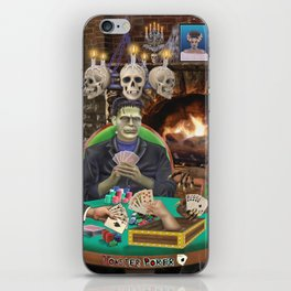 Our Favorite Monsters Playing Cards iPhone Skin